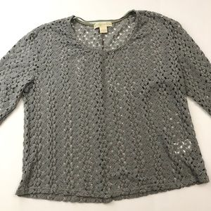 Urban Outfitters Staring at Stars Crochet Top